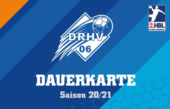 Bild der DRHV Dauerkarte 2020/2021
