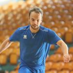 Vincent Sohmann beim Trainingsauftakt
