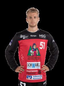 Moritz Ebert von der HSG Konstanz in der Saison 2020/21