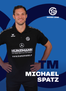 Teammanager Michael Spatz vom TV Großwallstadt 2020/21