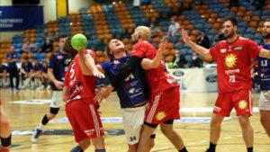 Jörn Persson im Spiel gegen den TuS N-Lübbecke