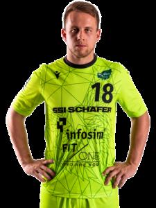 Steffen Kaufmann von der DJK Rimpar Wölfe Saison 2020/21