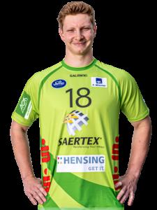 Johannes Wasielewski im Trikot des TV Emsdetten in der Saison 2020/21