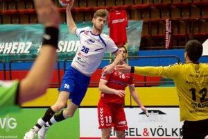 Yannick Danneberg im Spiel gegen den Wilhelmshavener HV 2020/21