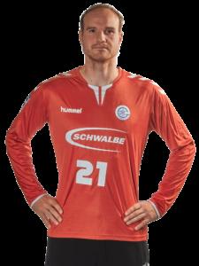 Torhüter Matthias Puhle vom VfL Gummersbach in der Saison 2020/21