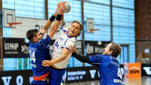 Jörn Persson im Spiel gegen die SG BBM Bietigheim Saison 2020/21