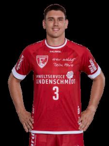 Josip Eres vom TuS Ferndorf in der Saison 2020/21