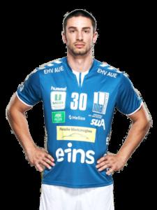 Adrian Kammlodt vom EHV Aue Saison 2020/21