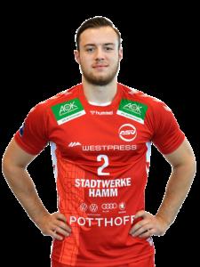 Jo Gerrit Genz vom ASV Hamm-Westfalen Saison 2020/21