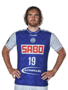 VFL Gummersbach Kapitän Timm Schneider Saison 2021/22