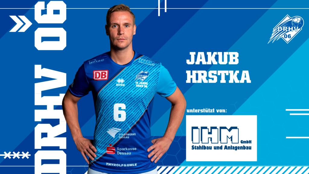 Werbebild für Spielerpatenschaften - Jakub Hrstka