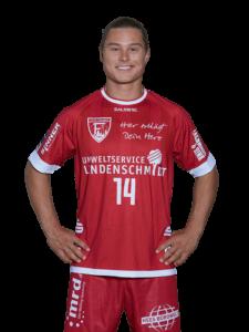 Jörn Persson im Trikot des TuS Ferndorf Saison 2021/22